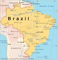 city map of brazil brazil map and brazil satellite images