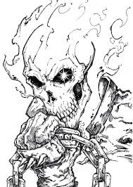 ghost rider coloring pages ghost rider 4 by chrisozfulton on deviantart ghost rider