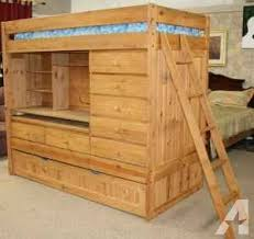 bunk bed with desk dresser and trundle dazzling bunk bed with trundle and desk 6 l 00335 1420750563 386 513