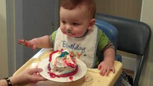 baby bday baby ben cake on his 1st birthday