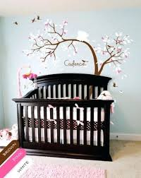 Cherry Blossom Wall Decal For Nursery Tree Wall Decal For Nursery Vinyl Wall Decal Teddy Wall Sticker