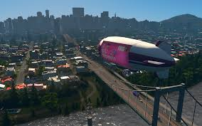 cities skylines mass transit dev diary 3 blimps u0026 cable cars
