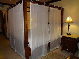 Drapes Over Bed Canopy Bed Curtains Queen Amys Office