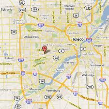 toledo ohio map toledo industrial sewing machines location maps