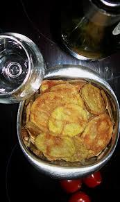cuisine sans graisse craquez sans conséquence chips légères de pomme de terre au sel de
