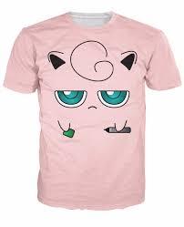 aliexpress com buy jigglypuff face t shirt fairy type