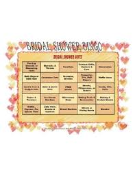 bridal shower gift bingo bridal bingo printable bridal shower bingo and