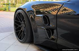 widebody cars zr6x extreme widebody corvette body kit delivers c6 r style for
