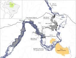 Map Of Rivers Map Of Belo Monte Dam International Rivers