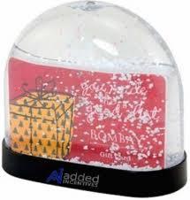 gift card snow globe addedincentives gifts 5