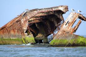 the sunken ship in cape may new jersey travel pinterest