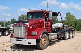 kenworth t800 truck 2001 kenworth t800 roll off container truck item k1825 s