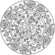 thanksgiving mandala coloring page free printable coloring pages