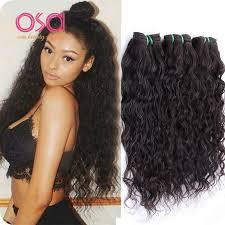 good wet and wavy human hair 3 bundles brazilian virgin hair water wave virgin hair wet and