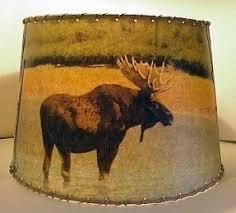moose lamp shade foter