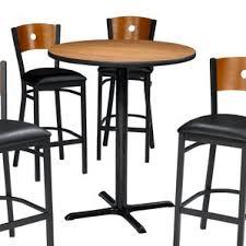 Vegas Storage Bar Table Blue Pub Tables U0026 Bistro Sets You U0027ll Love Wayfair