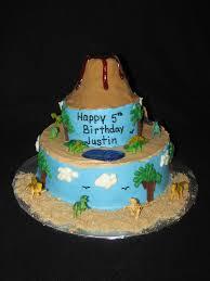 prehistoric dinosaur volcano cake heather u0027s cake studio
