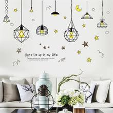Chandelier Mural Online Get Cheap Chandelier Wall Decals Aliexpress Com Alibaba
