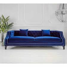 sofa design ideas 29 luxury blue velvet sofa design ideas for living room dlingoo