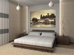 chambre a decorer chambre de style chinois avec un faux mur éclairé deux tables de