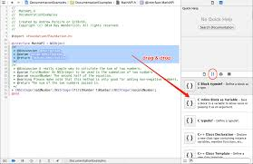 documenting in xcode with headerdoc tutorial