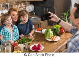 stock photos of family in big house happy family sitting on