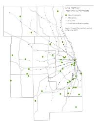 chicago housing projects map local technical assistance cmap