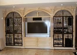 Rod Iron Home Decor Wrought Iron Interior Doors Images On Exotic Home Decor Ideas B93