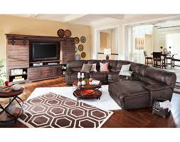 City Furniture Living Room The St Malo Collection Brown American Signature Furniture