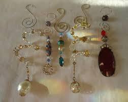 mirror ornaments etsy