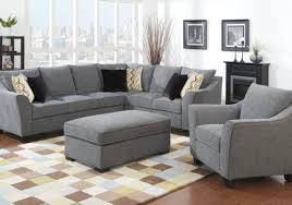 gray sectional with ottoman calvina grey sectional and storage ottoman furniture and interior