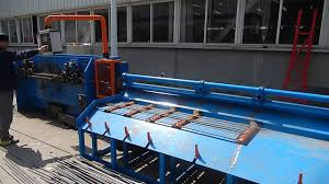 coil steel wire straightening and cutting machine as order cutting