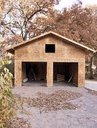 how to build a detached garage for the home pinterest garage