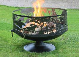 Firepits Co Uk Pit Sporting 80 With Pedestal Base Firepits Uk