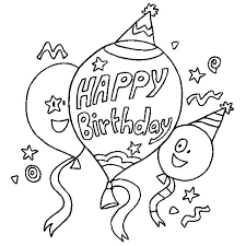 ariel s birthday cake colouring page happy colouring