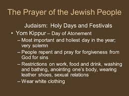 yom kippur atonement prayer1st s day gift ideas unit 12 prayer support for the kingdom section 3 the prayer of