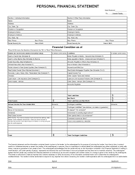 Financial Statements Templates For Excel Financial Statement Forms Templates Income Statement Template For