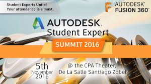 Student Auto Desk by Autodesk Student Expert Summit 2016 Youtube