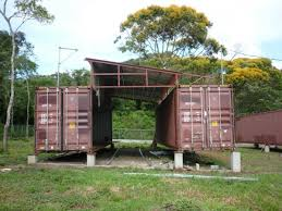 shipping container cabins home decoration