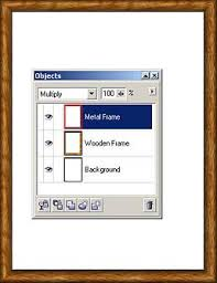 creating picture frames in corel photo paint versions 8 part 1