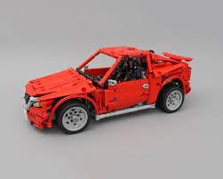 lego technic car lego moc 4682 lego technic mazda race car with sbrick technic