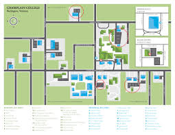 Washington University Campus Map by Travel Graduate Residency Champlain College