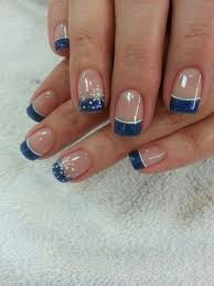 french tips with design tags french nail art designs classy