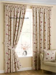 lined bedroom curtains ready made belfield furnishings mariposa pencil pleat curtain from 22 94