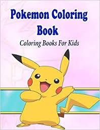 pokemon coloring book kids coloring pages kids kids