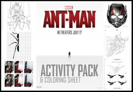 free ant man coloring and activity pages mommy u0027s busy go ask daddy