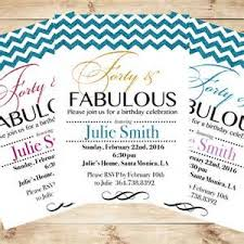 free 40th birthday invitation templates printable 28 images