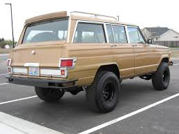 jeep grand wagoneer custom other than the green its a very nice wagoneer custom jeep