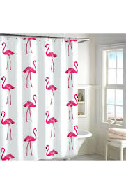 Flamingo Shower Curtains Flamingo Shower Curtain Rings Shower Curtains Design
