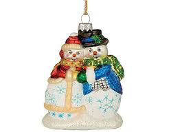waterford marquis snowman ornaments new in box i